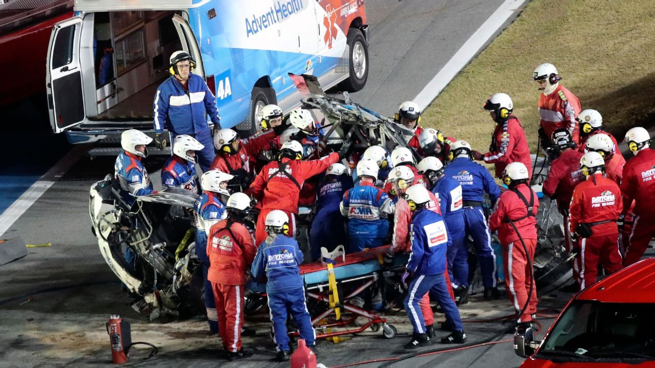 Newman's Daytona 500 crash reminds us of fragility of life in dangerous sport