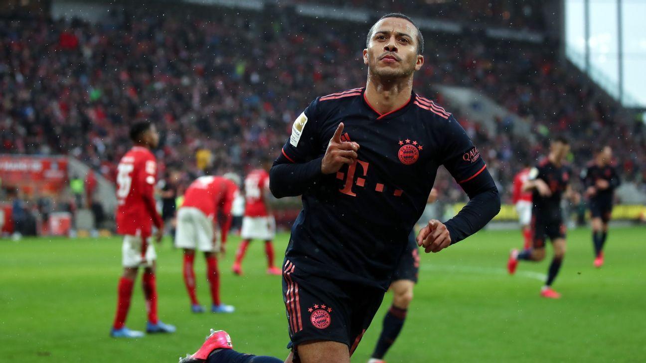 LIVE Transfer Talk: Juve turn to Thiago as Pogba alternative