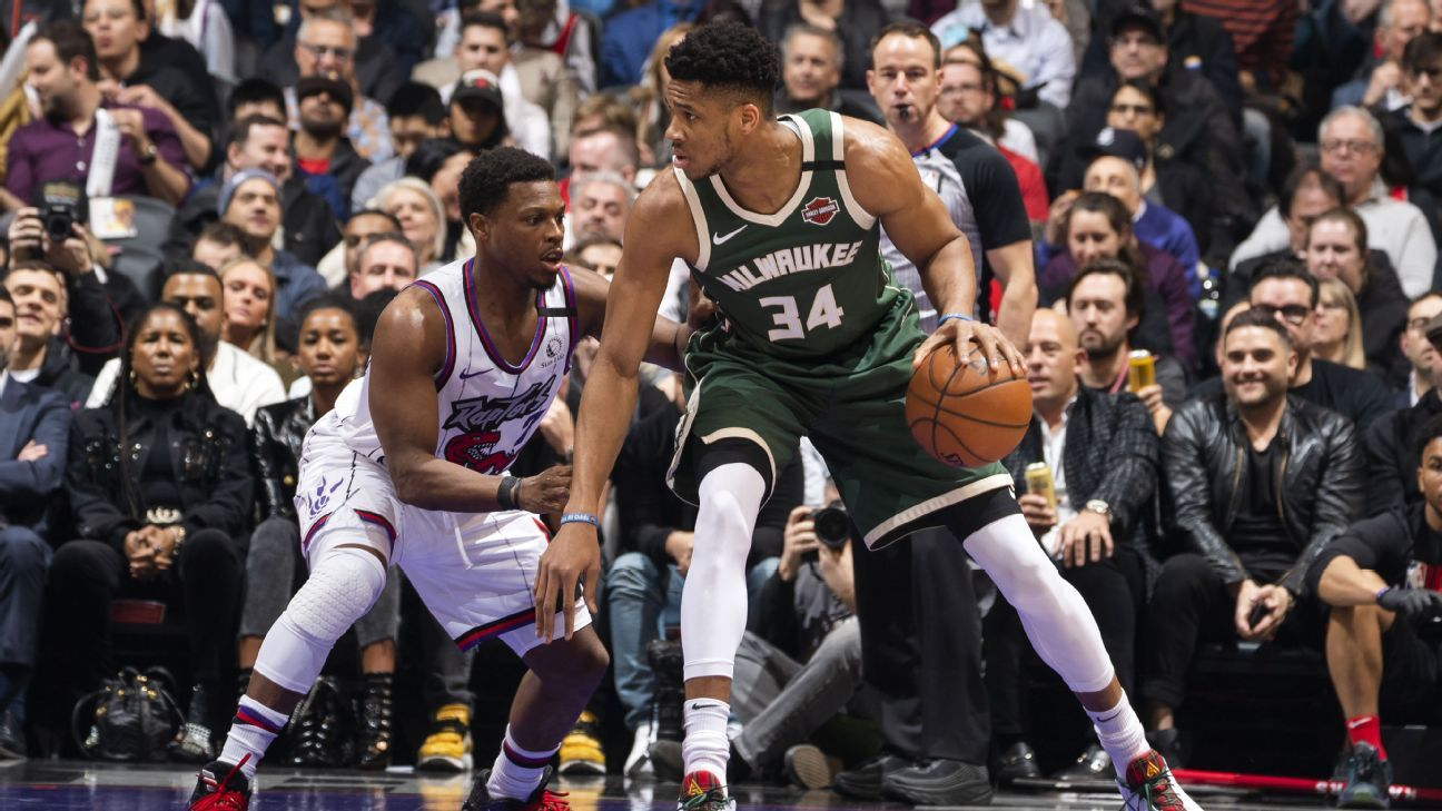 Giannis: Playoff loss 'on mind' after beating Raps