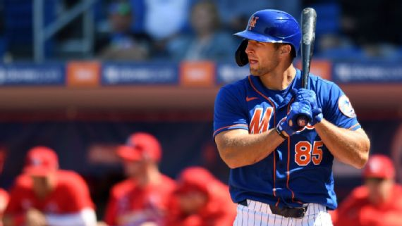 New York Mets Include Tim Tebow on Spring Training Roster