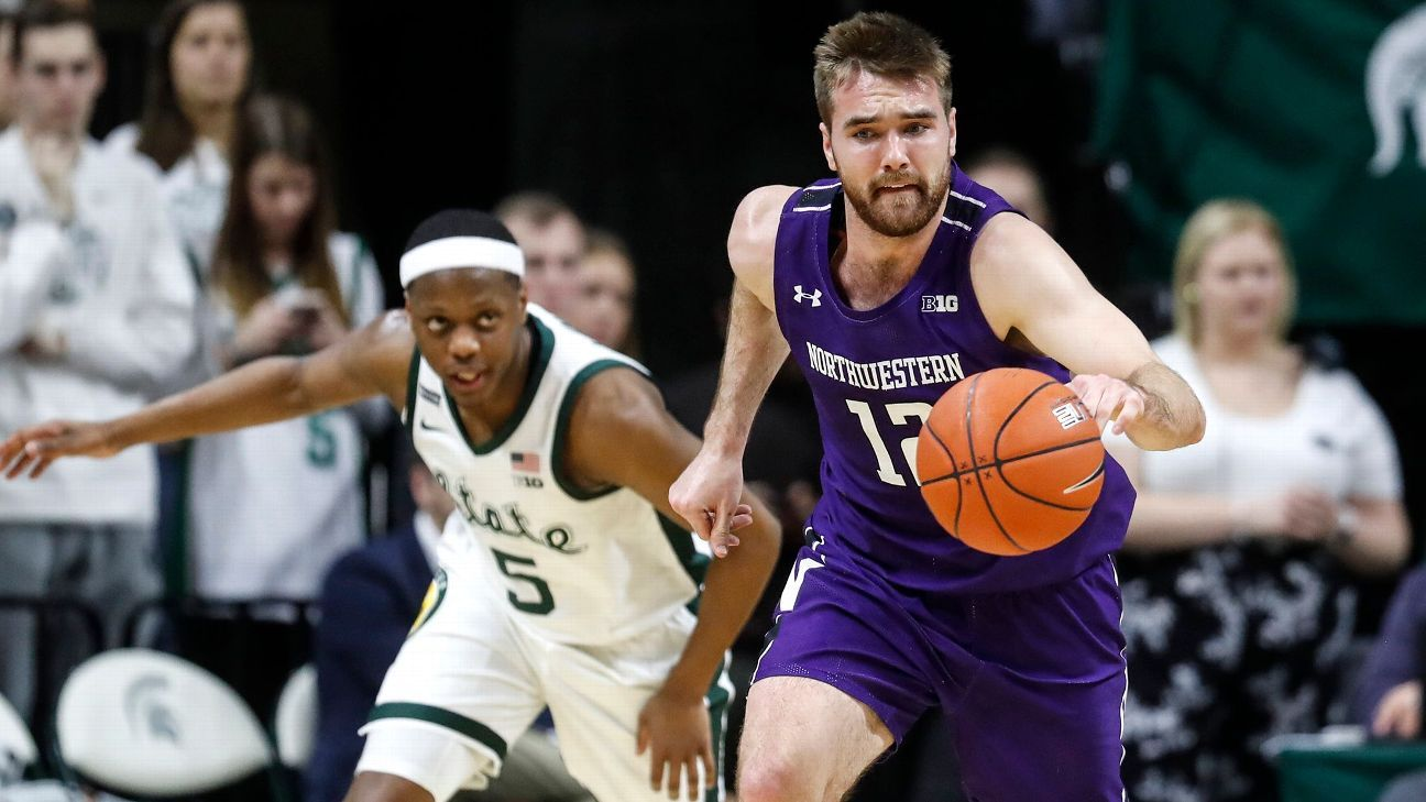Why college's best men's lacrosse player is now playing basketball