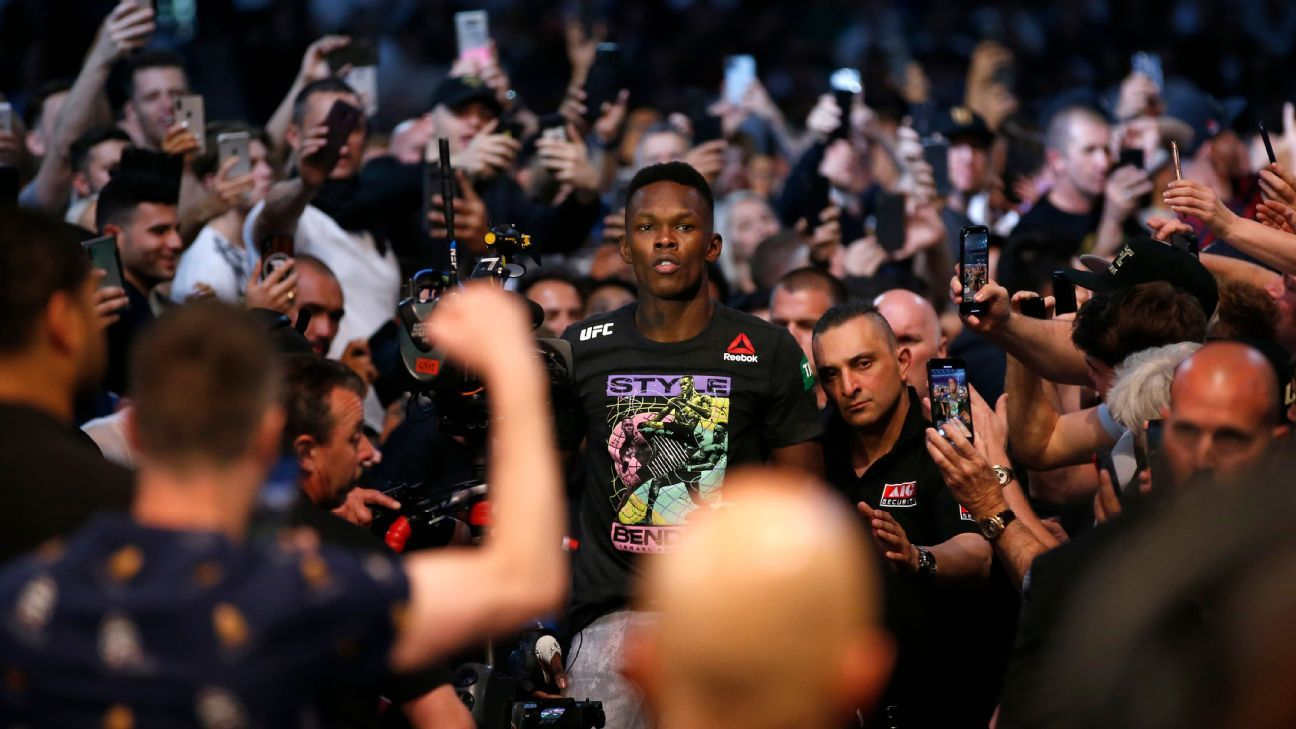 Adesanya's walkout for UFC 248 will be 'visually pleasing'