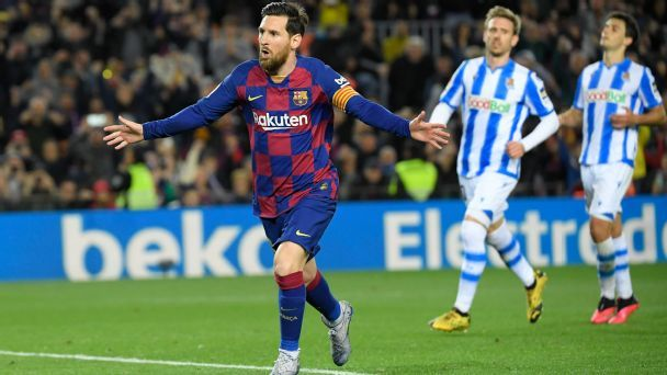 Barcelona vs. Real Sociedad - Football Match Report ...