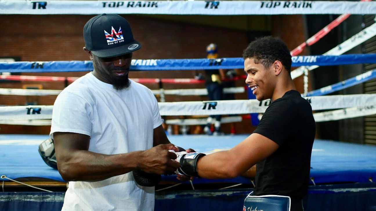 How trainer Kay Koroma is grooming some of boxing's future stars, including Shakur Stevenson