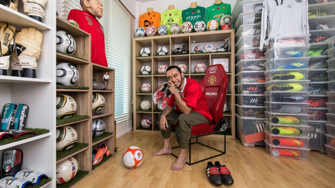 Meet the biggest Beckham boots collector in the world