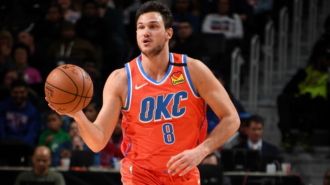 OKC's Gallinari helping fund COVID-19 test kits