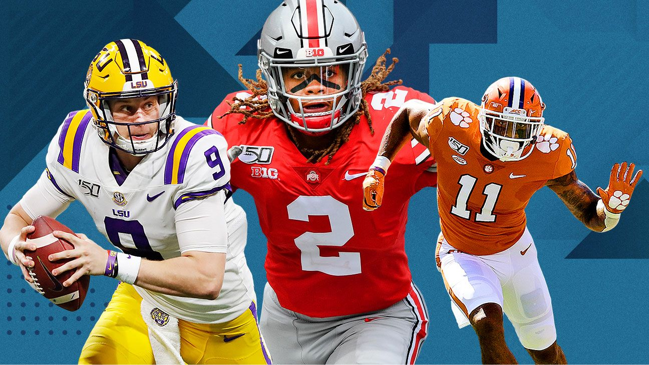 2020 NFL draft: Ranking the top 100 prospects