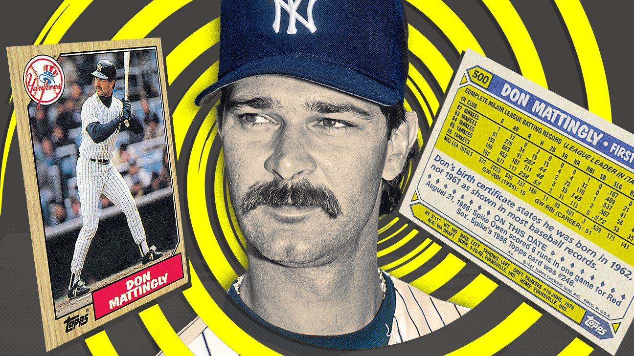 Would a baseball card lie? Cracking the great Don Mattingly mystery