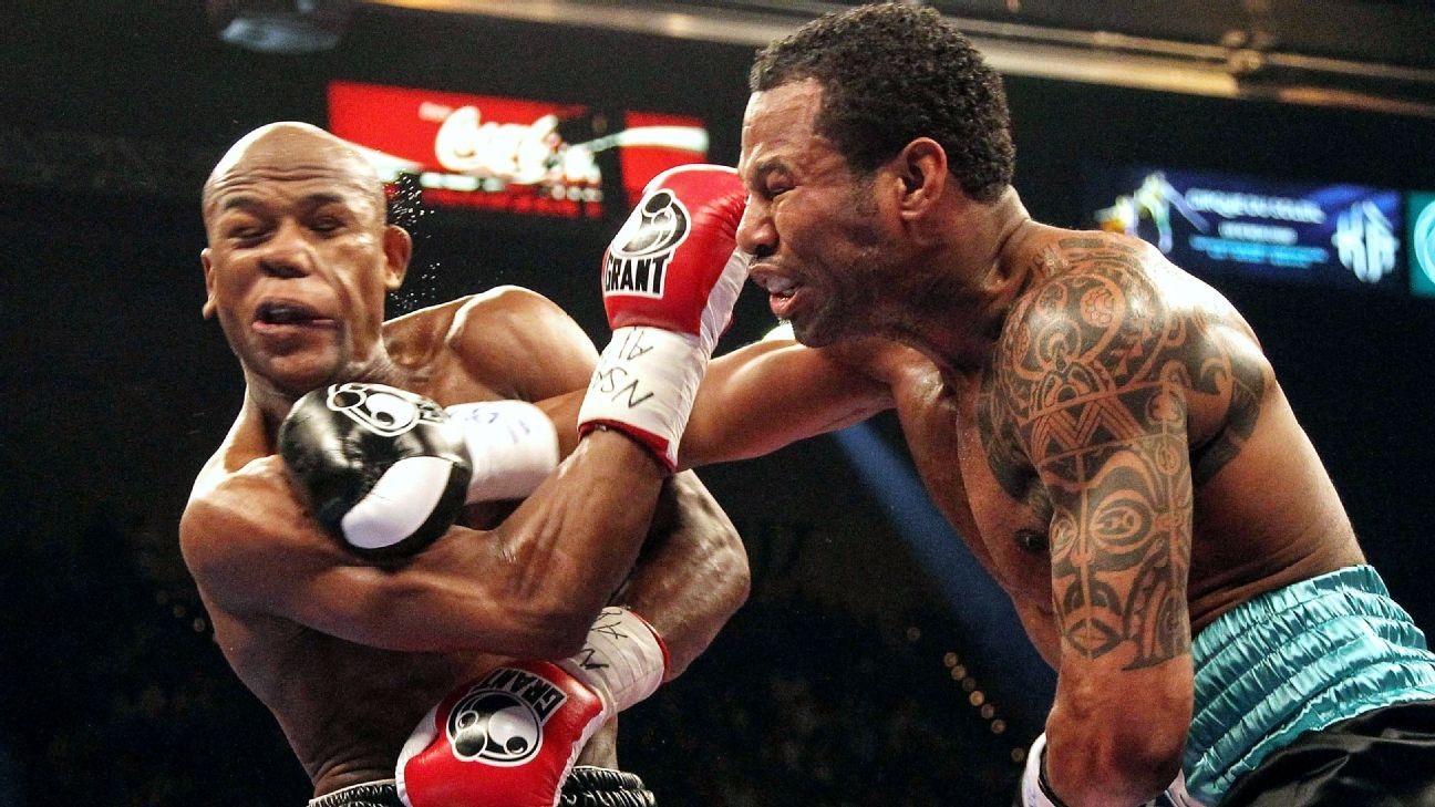 Shane Mosley: The day I almost KO'd Floyd Mayweather