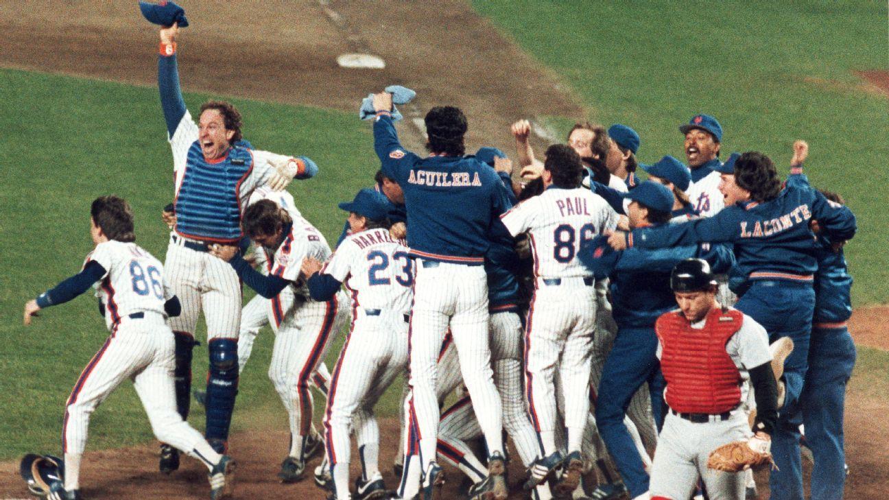 ¿Son los New York Mets de 1986 el mejor equipo de MLB del último medio siglo? Clasificamos a los 10 mejores contendientes