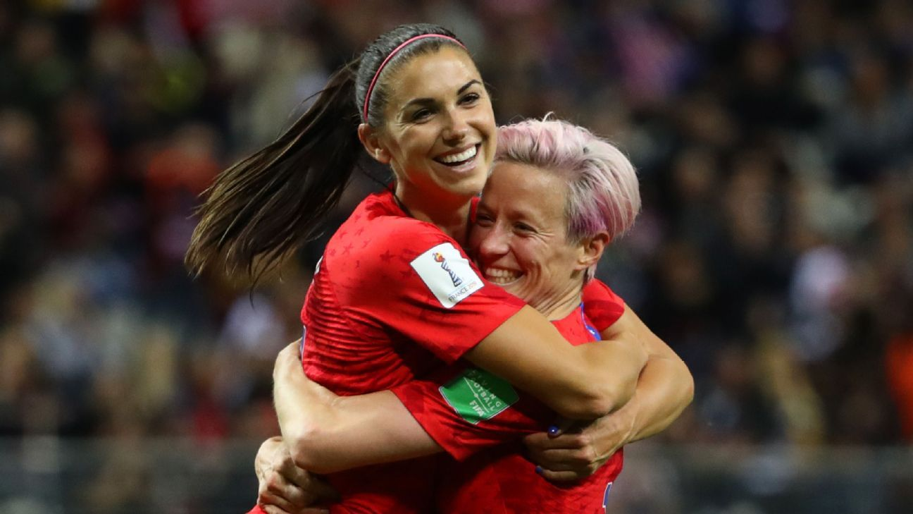 Morgan, Rapinoe vow fight after USWNT legal setback