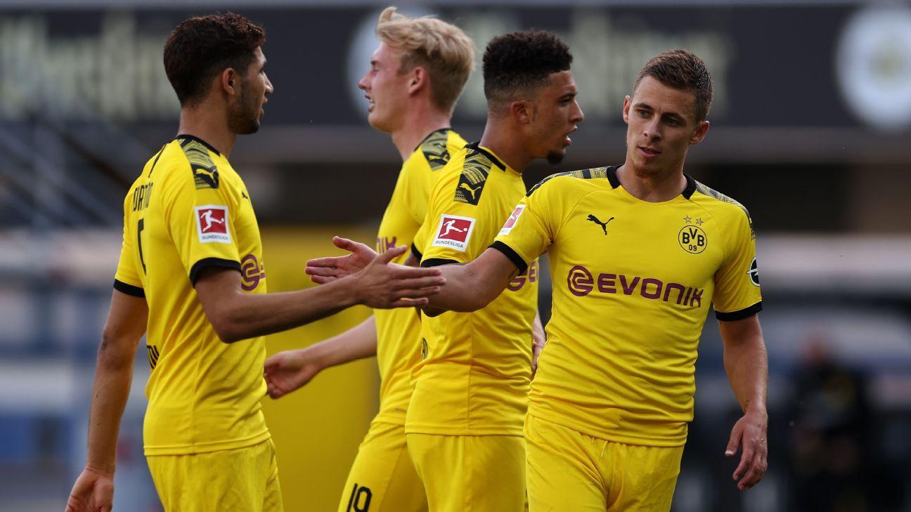 Paderborn 07 – Borussia