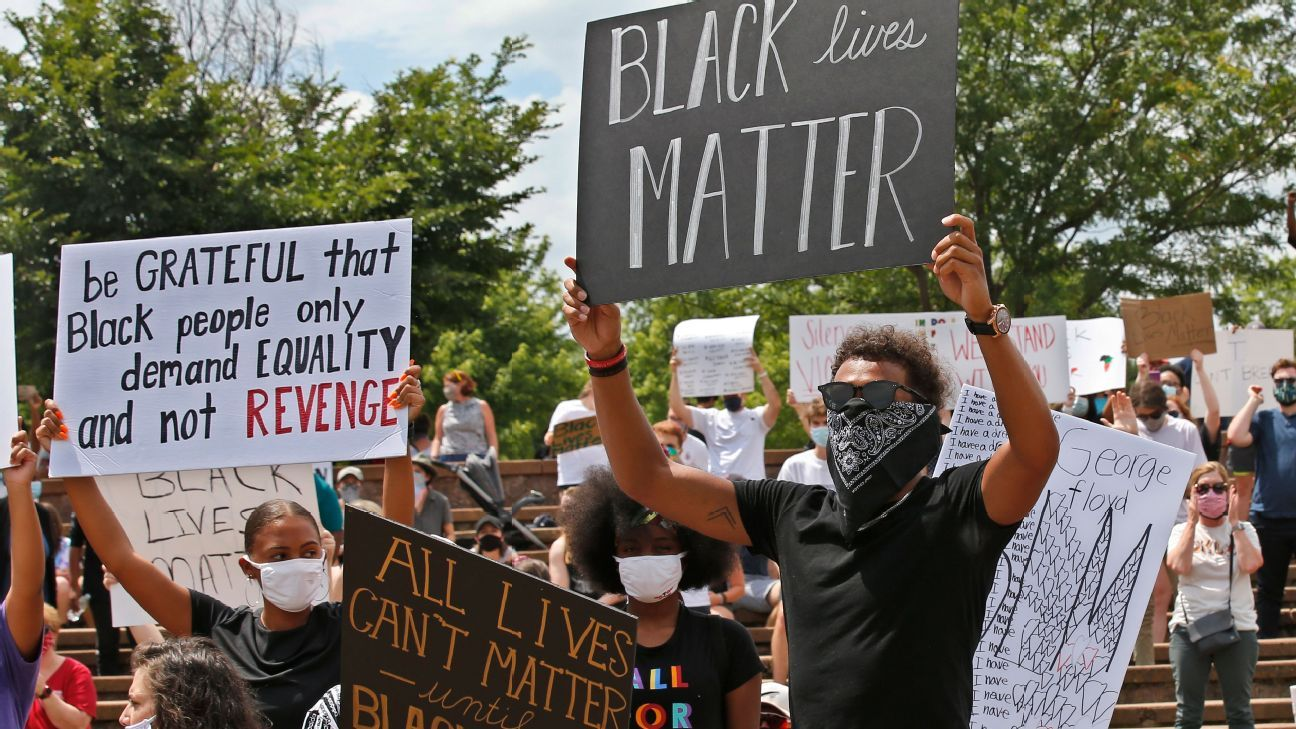 Sources: NBA plans 'Black Lives Matter' on courts