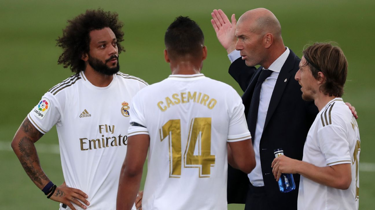 Zidane rants after Real win, Premier League starts Black Lives ...