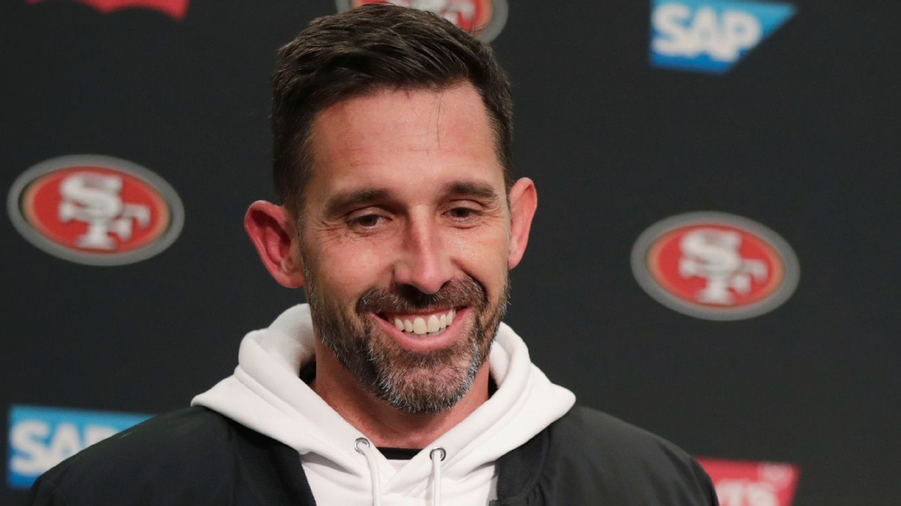 San Francisco 49ers like five QBs as fit with No. 3 overall pick in 2021 NFL draft; will be Kyle Shanahan's call – ESPN