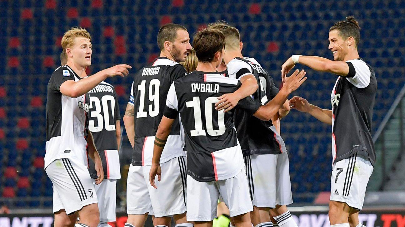 Bolonia vs. Juventus - Reporte del Partido - 22 junio, 2020 - ESPN