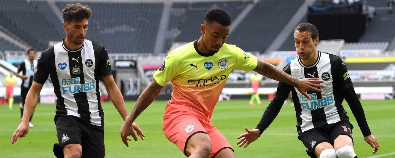 Newcastle United vs. Manchester City - Reporte del Partido - 28 junio, 2020 - ESPN