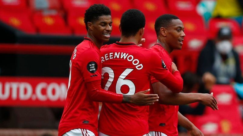 Utd hammer Bournemouth to move into top 4