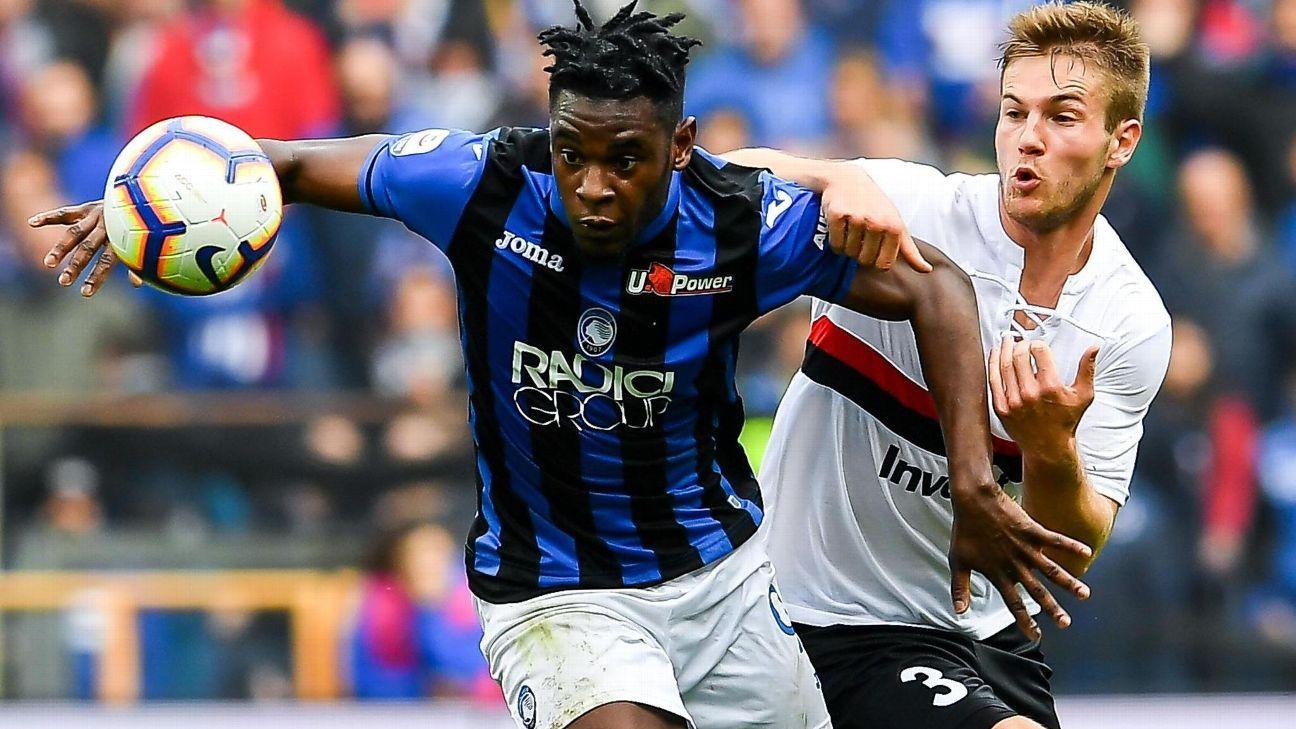 Zapata, Muriel y Atalanta reciben a Sampdoria con el objetivo de acercarse al segundo lugar