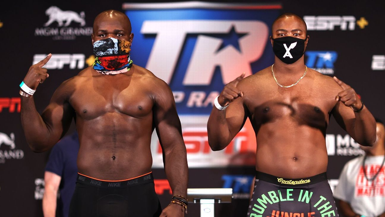 Ringside Seat: Heavyweights take center stage inside 'the bubble' in Las Vegas