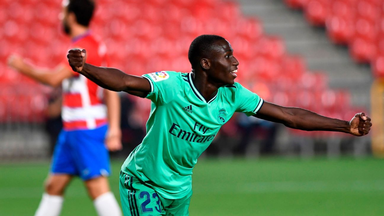 Mendy scores first Real Madrid goal with exceptional finish in 8 ...