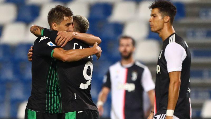 Sassuolo vs. Juventus – football match report – July 15th 2020