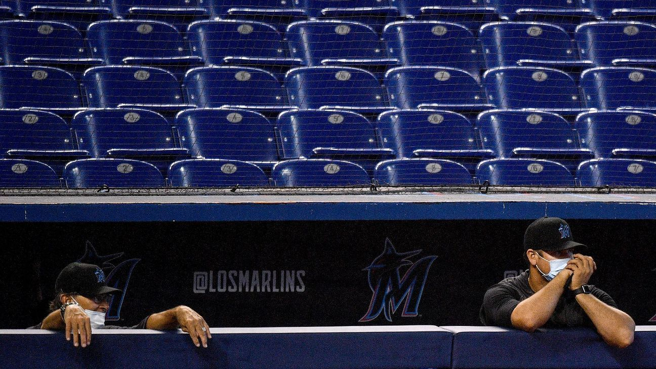 Is the MLB season in jeopardy? Here's what the Marlins' coronavirus outbreak means for baseball
