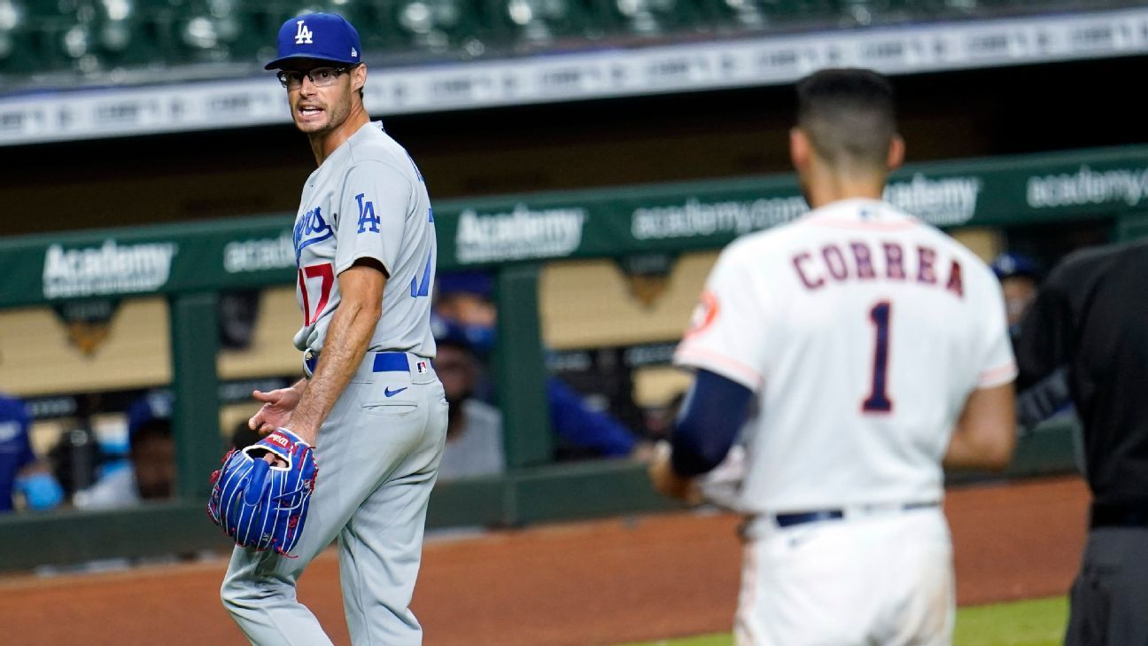 Dodgers-Astros breakdown – Inside the wild benches-clearing sixth inning and what's next – ESPN