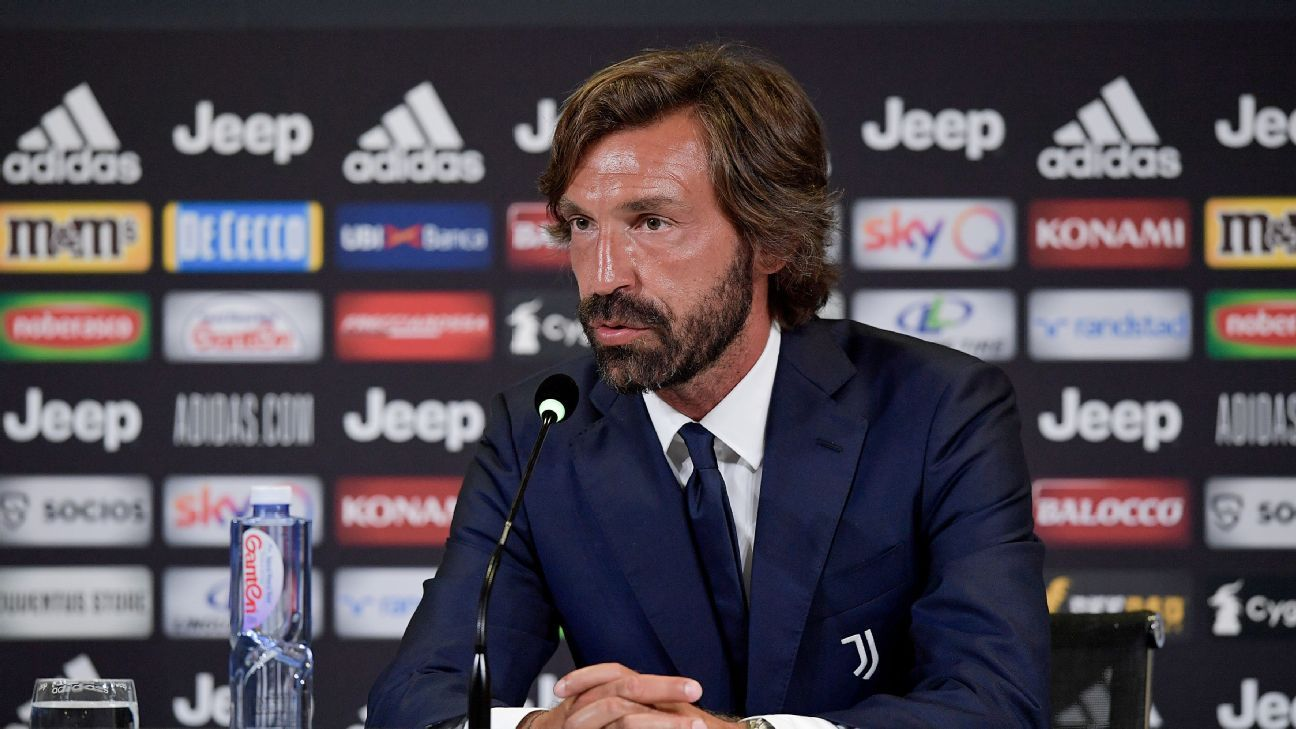 Juventus hope Pirlo can be a Ronaldo Whisperer after Sarri mess
