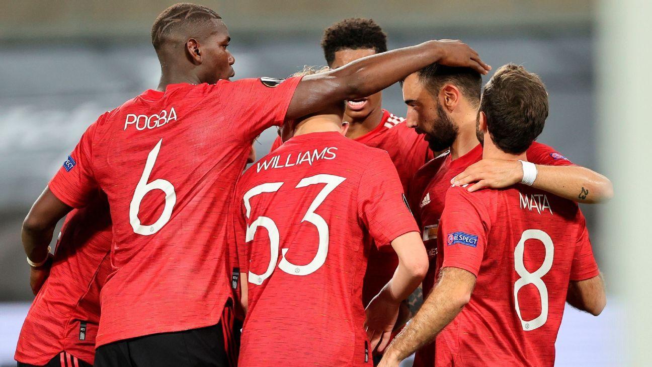 Manchester United vs. FC Copenhagen - Reporte del Partido - 10 agosto, 2020 - ESPN