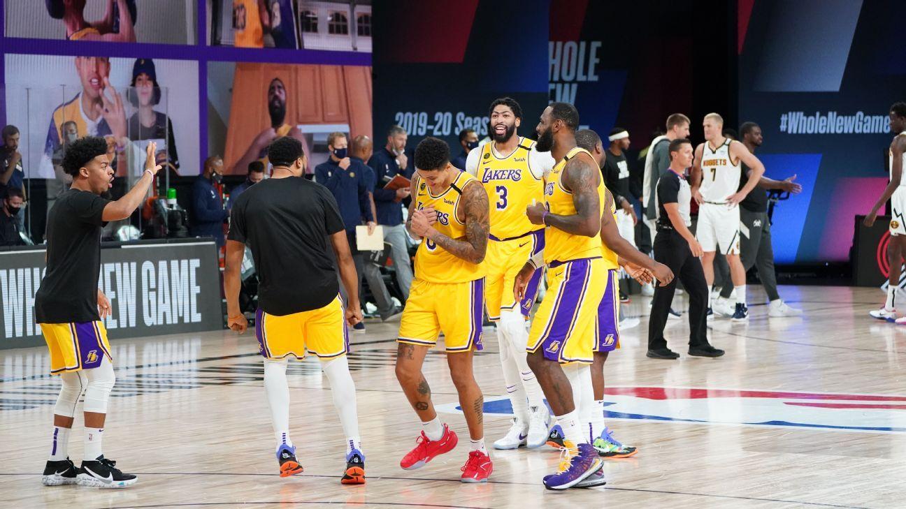 Kuzma rewards Lakers' trust with 3-point winner