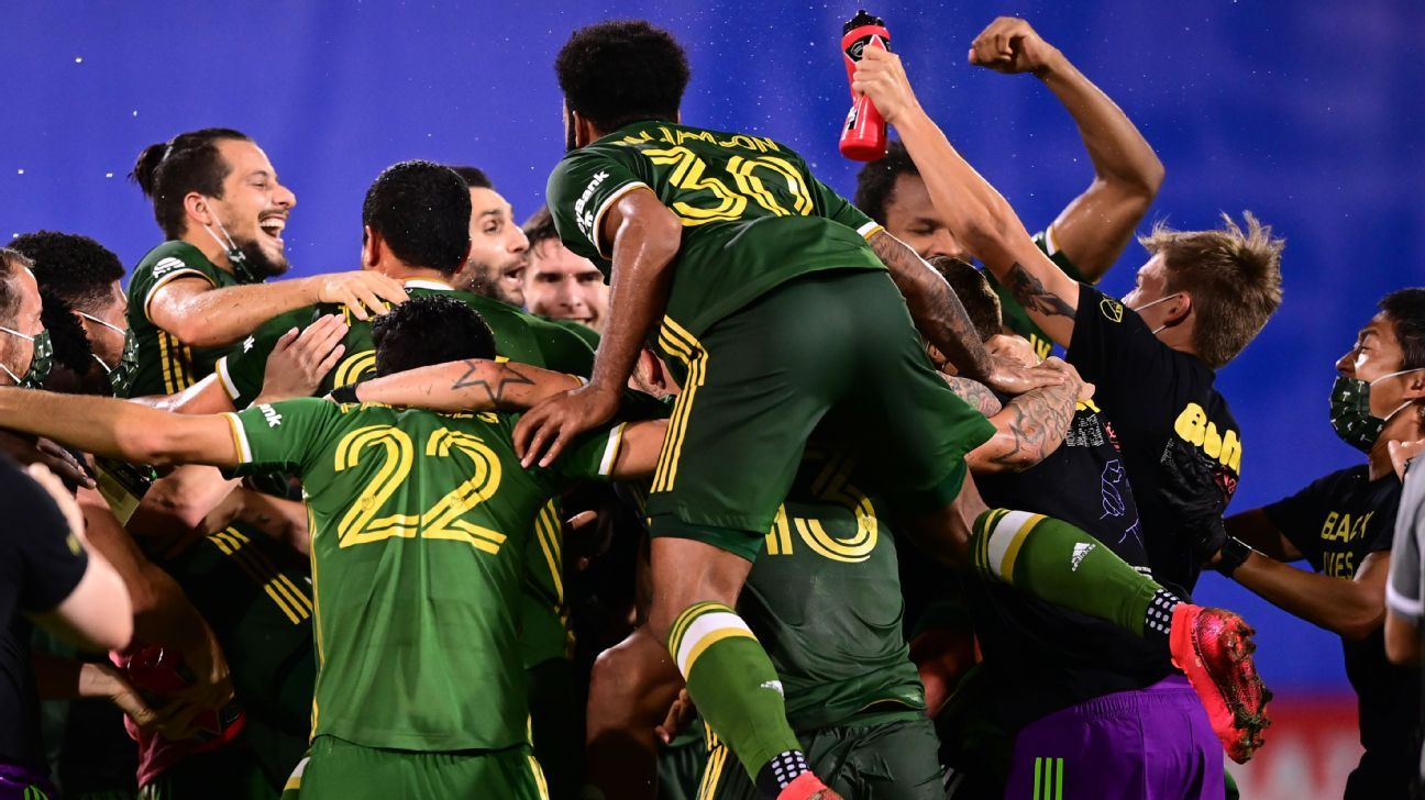 Portland Timbers crowned fitting champions of surreal MLS is Back Tournament