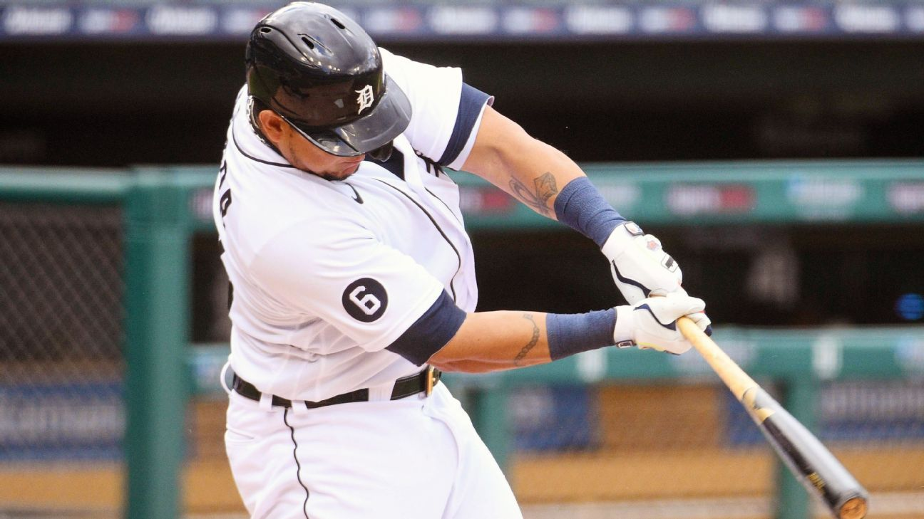 Tigers place Cabrera on IL with biceps strain