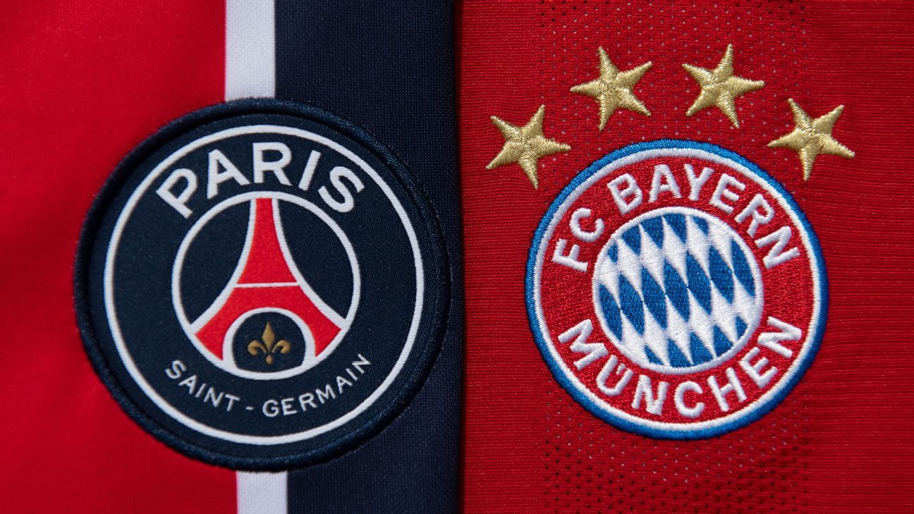 Bayern Munich y PSG jugarán una final de Champions League inédita