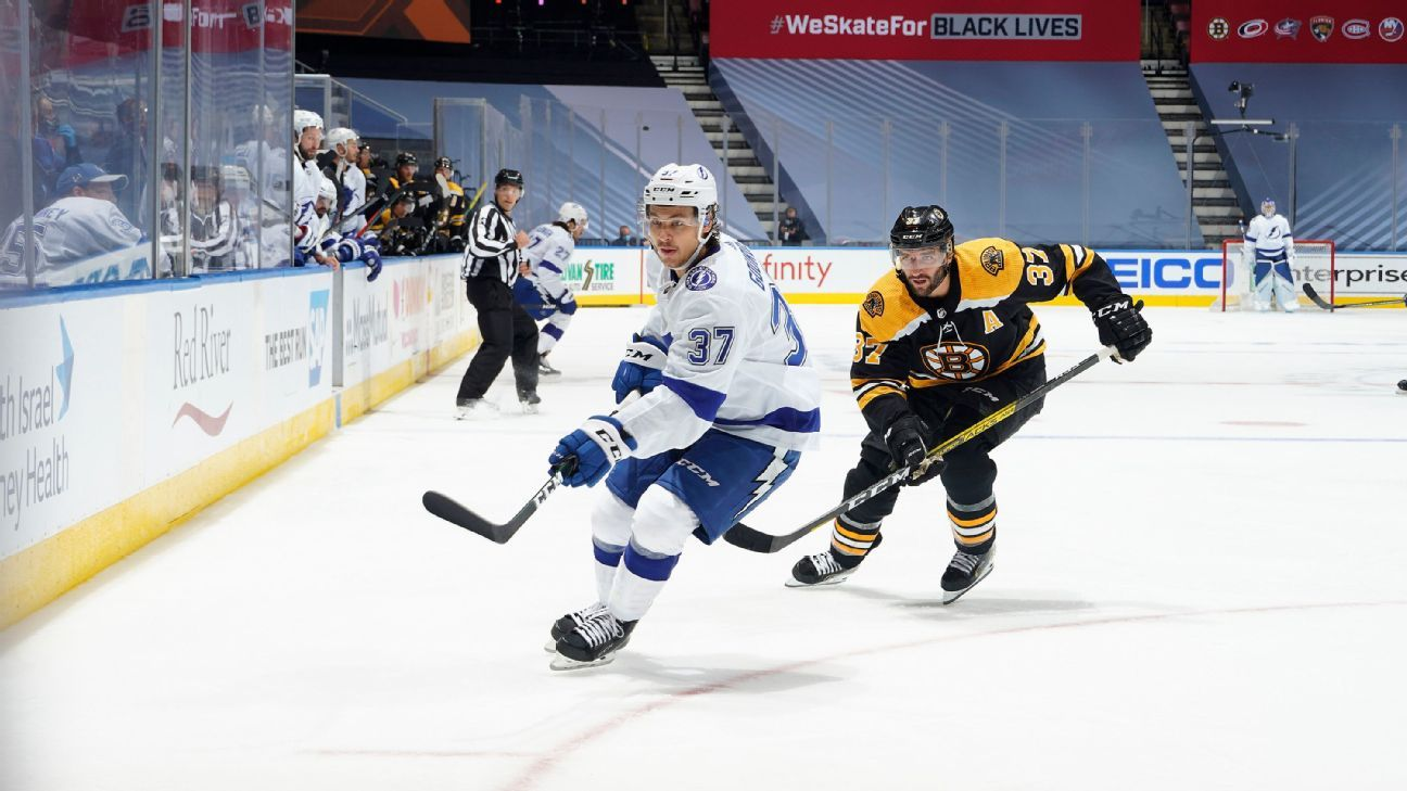 2020 NHL playoffs preview - Tampa Bay Lightning vs. Boston Bruins ...
