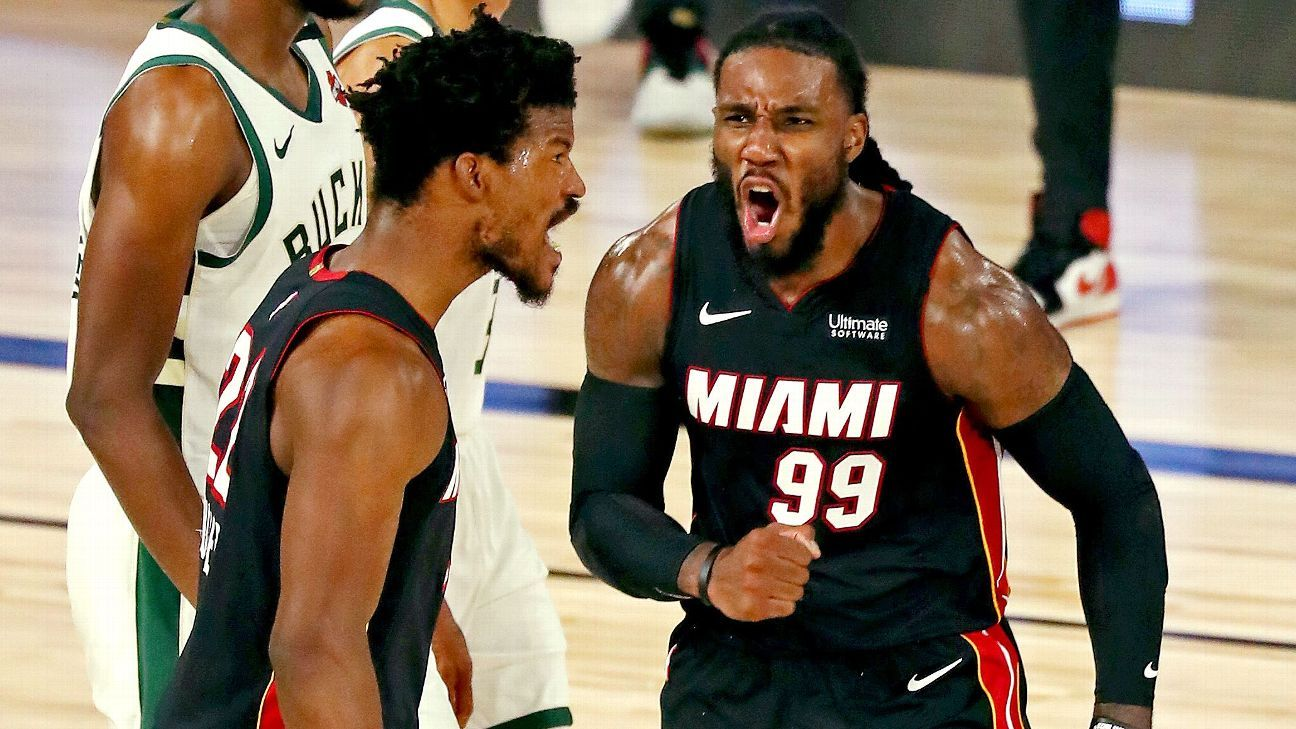 Heat S Jimmy Butler Udonis Haslem Told Me Do Not Let Us Lose Game 3 Vs Bucks