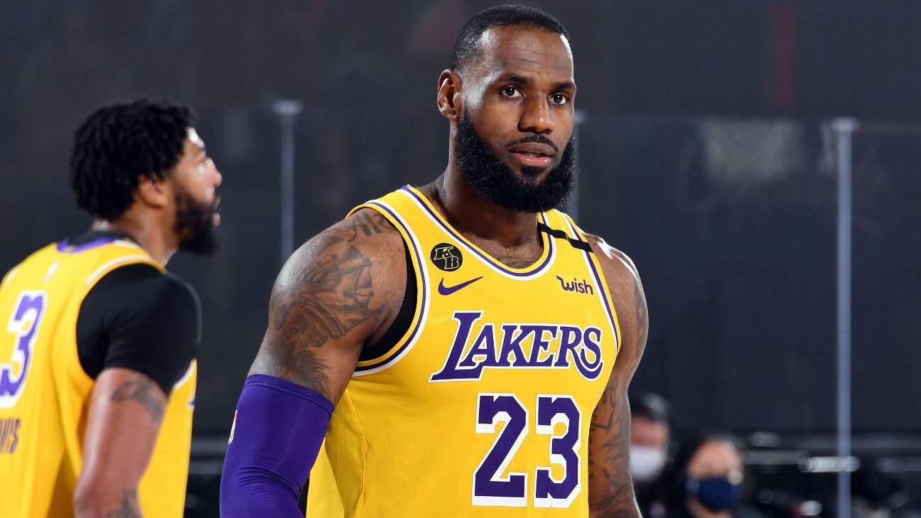 Los Angeles Lakers' LeBron James sets record with 16th selection to All-NBA team - ESPN