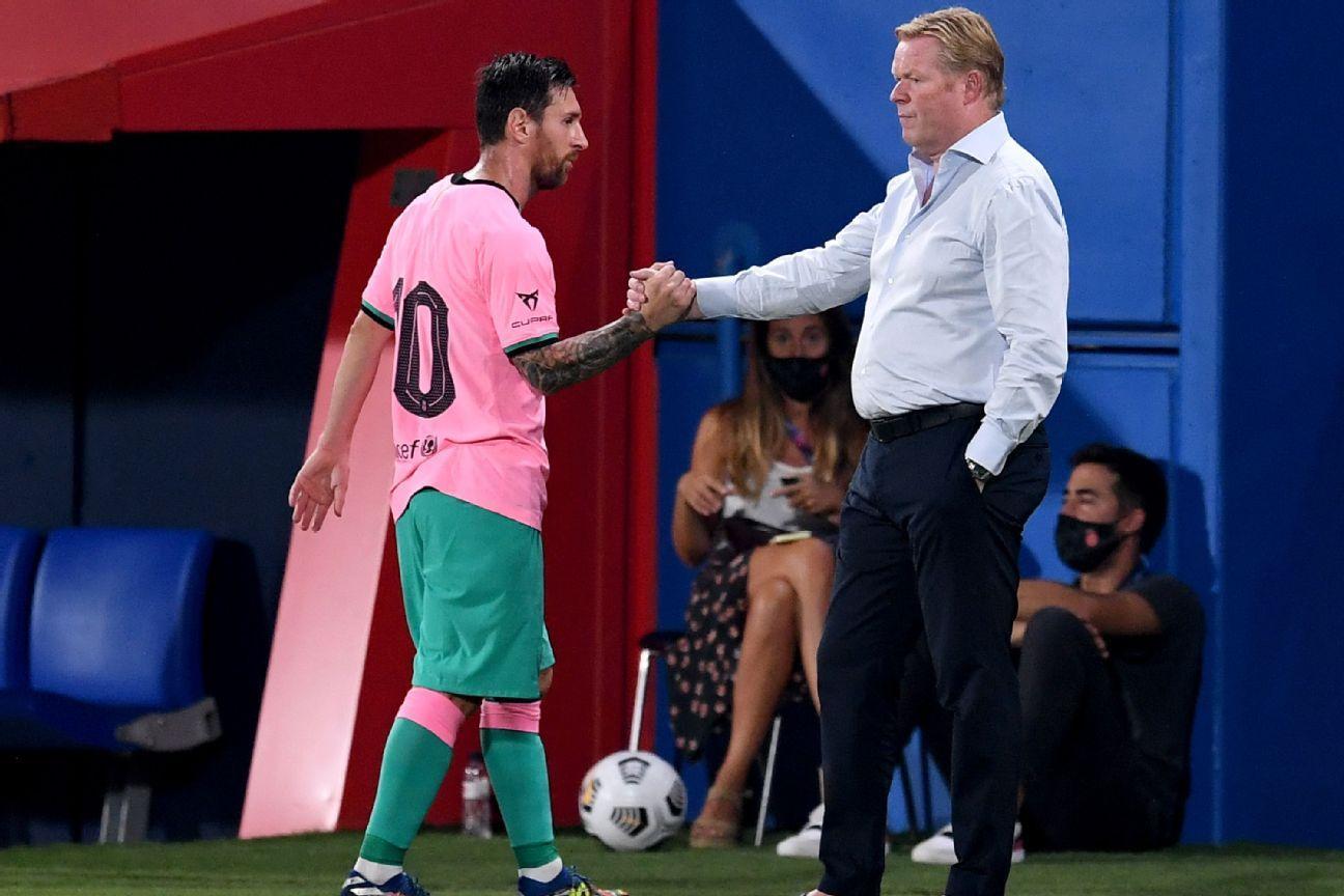 Barcelona Vs Girona Football Match Report September 16 2020 Espn