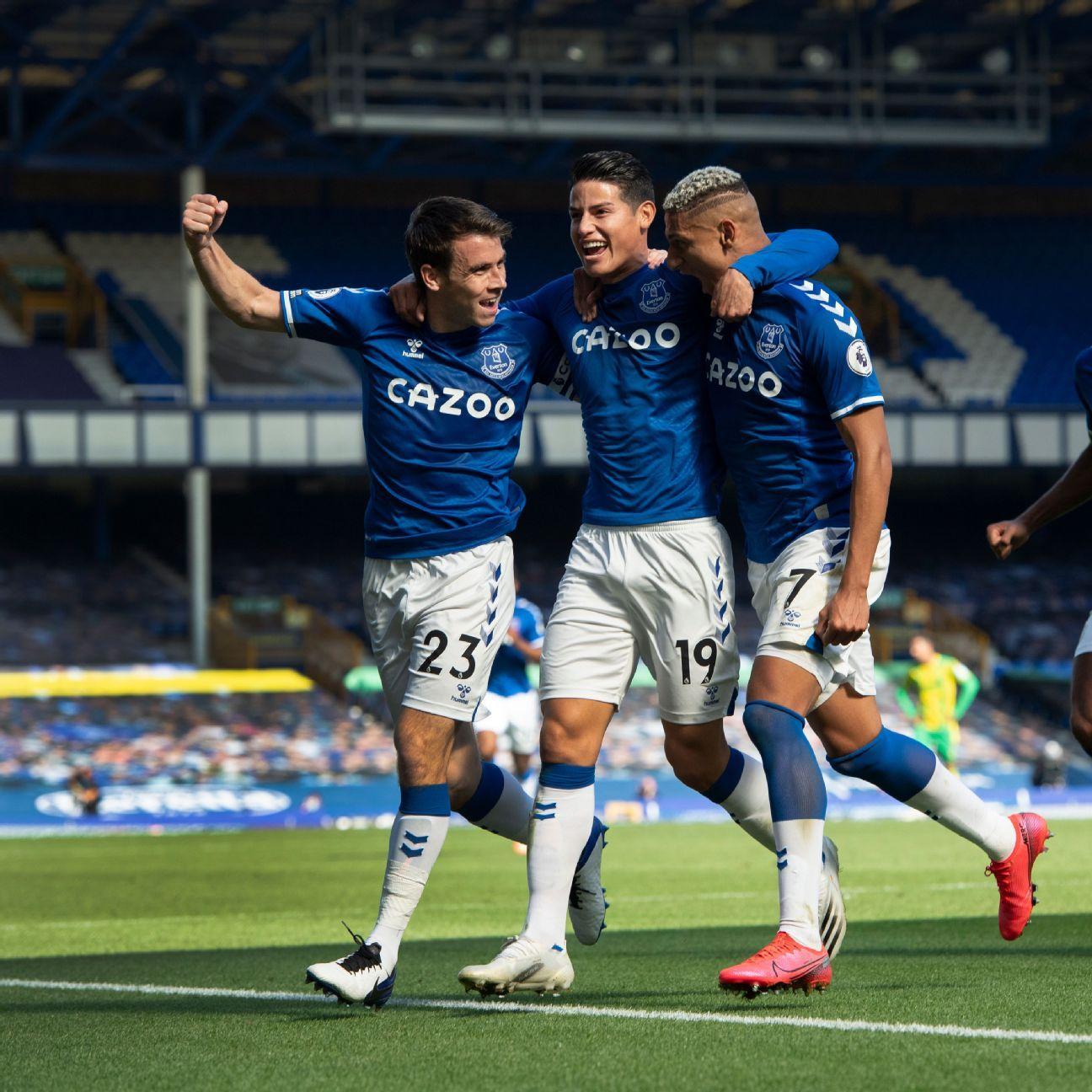 Everton vs. West Bromwich Albion - Football Match Report - September 19, 2020 - ESPN Australia