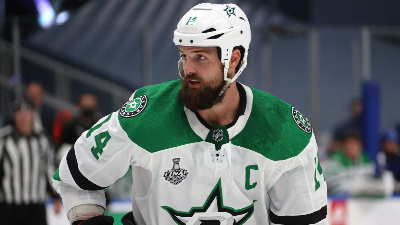 Stars captain Benn misses practice after injury