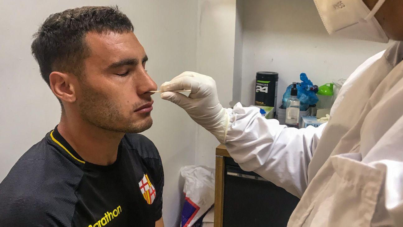 Último rival do Flamengo, Barcelona anuncia que não tem casos de COVID-19