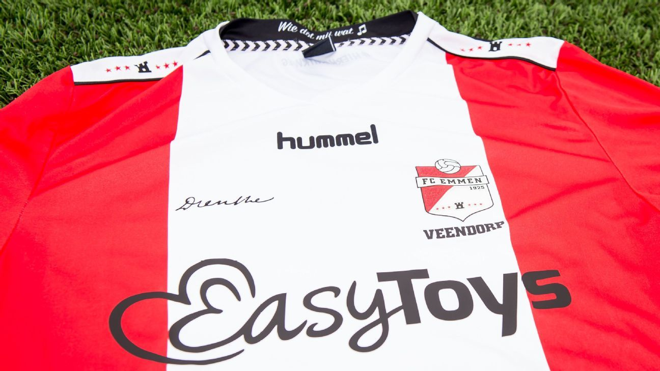 Dutch Team Fc Emmen S Shirt Sponsorship By Sex Toys Company Approved