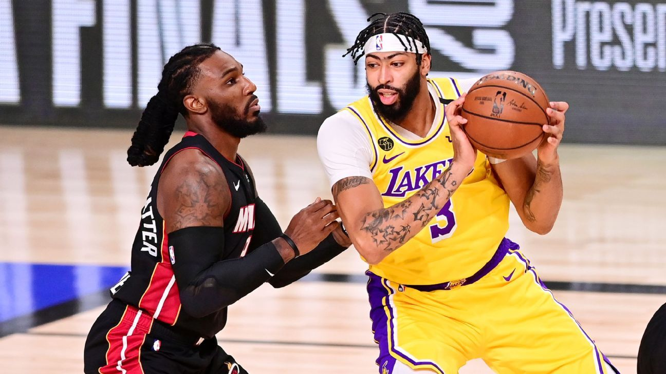 Nba Finals Everything We Learned About The Lakers Heat Finals In Game 1
