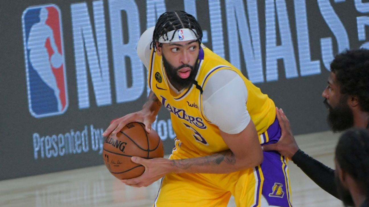 Los Angeles Lakers' Anthony Davis shines in NBA Finals debut but says 'job is not done' thumbnail
