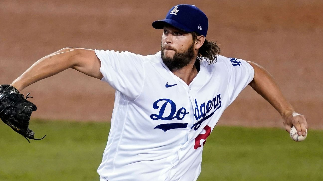 Los Angeles Dodgers scratch Clayton Kershaw from Game 2 start – ESPN