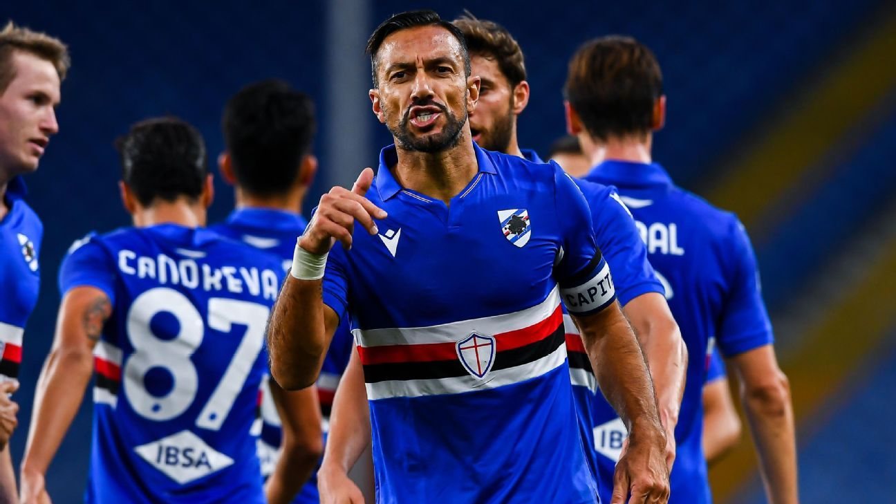 Sampdoria vs. Lazio - Football Match Report - October 17, 2020 - ESPN