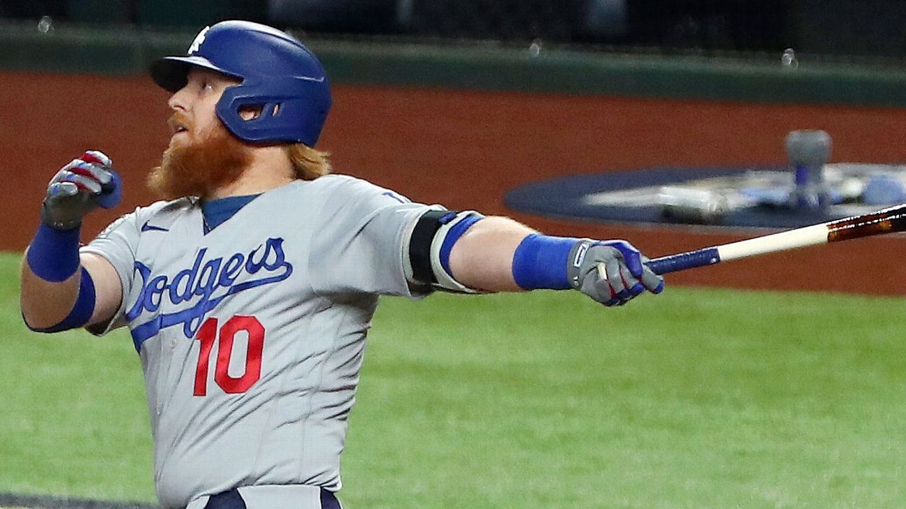 Turner ties Snider for Dodgers' postseason HR lead