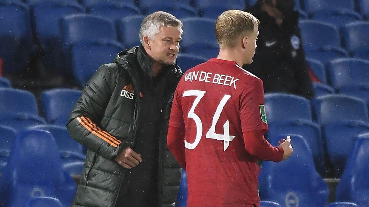 Solskjaer bites back at Van de Beek claims