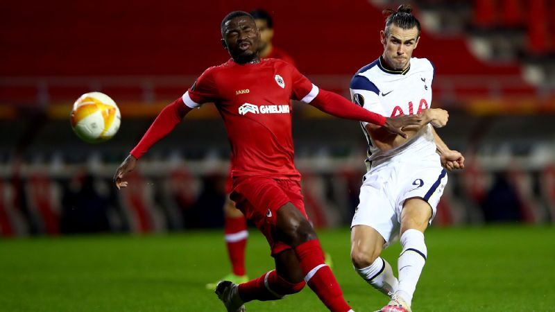 Bale, Alli struggle as Spurs suffer UEL defeat