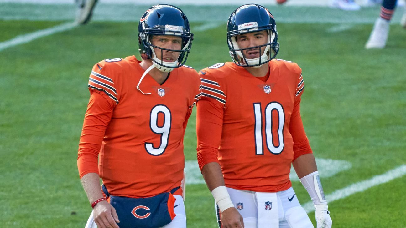 Bears GM: Everything is on table with QB spot